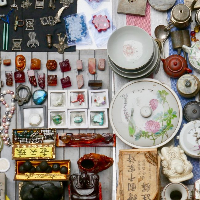 Antique Market. Kunming, China.