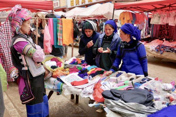 Market Negotiations. Yunnan, China.