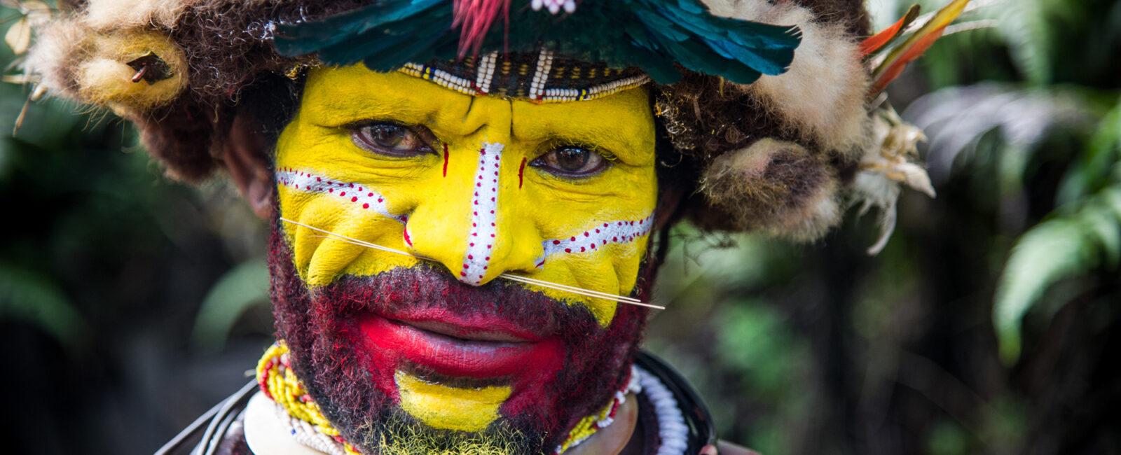 Huli Tribesman