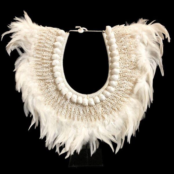 White Feather 1-Black ground